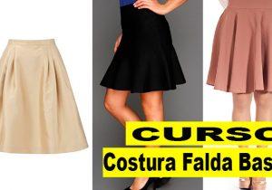 curso costura de faldas