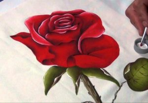 curso pintura sobre tela