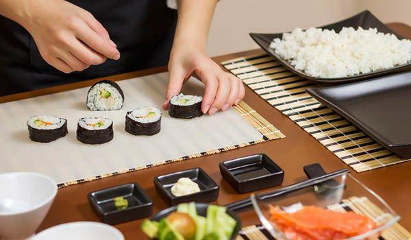 curso cocina sushi