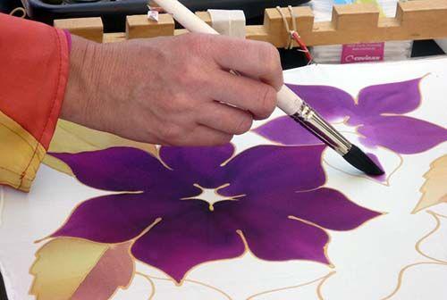 clases de pintura en tela