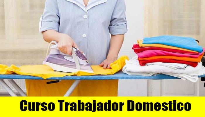 curso de trabajador domestico