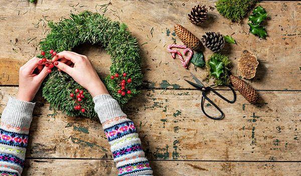 curso decoracion de navidad