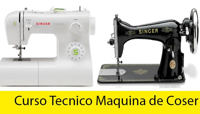 curso tecnico maquina de coser