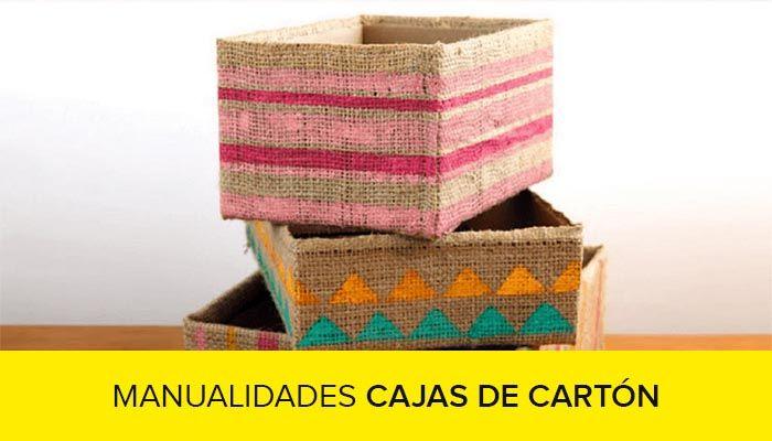 curso de manualidades con cajas de carton gratis