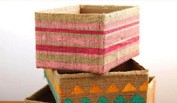 curso manualidades con cajas de carton