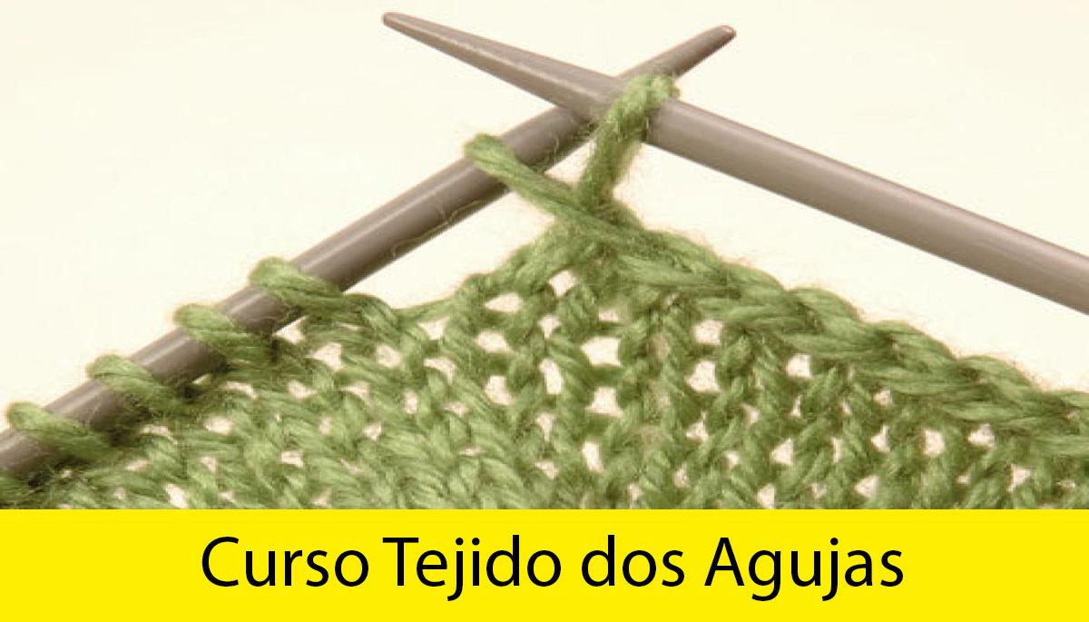 curso tejido a dos agujas