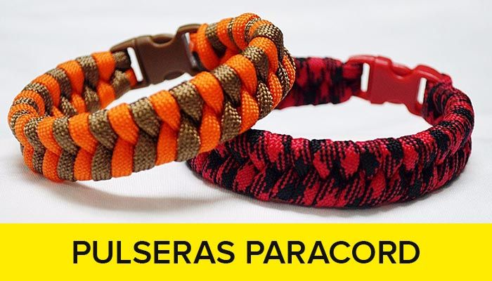 Curso de brazaletes paracord pulseras