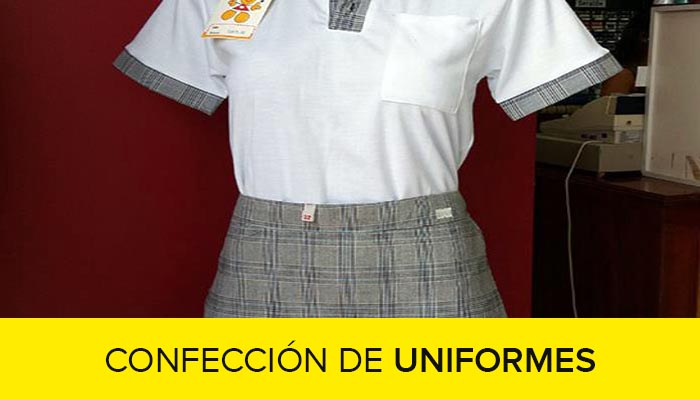 Curso de confeccion de uniformes escolares