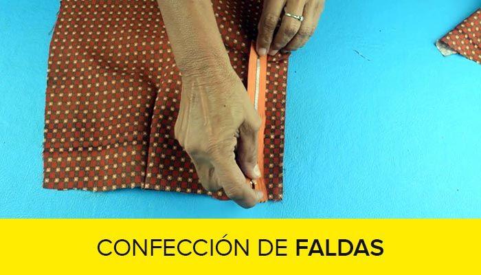 corte y confeccion de faldas