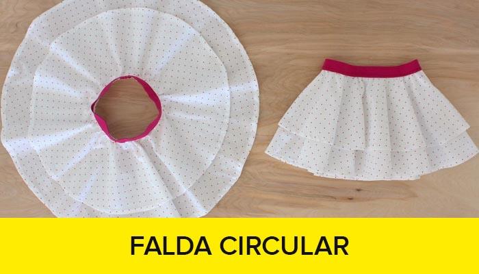 curso como hacer una falda circular