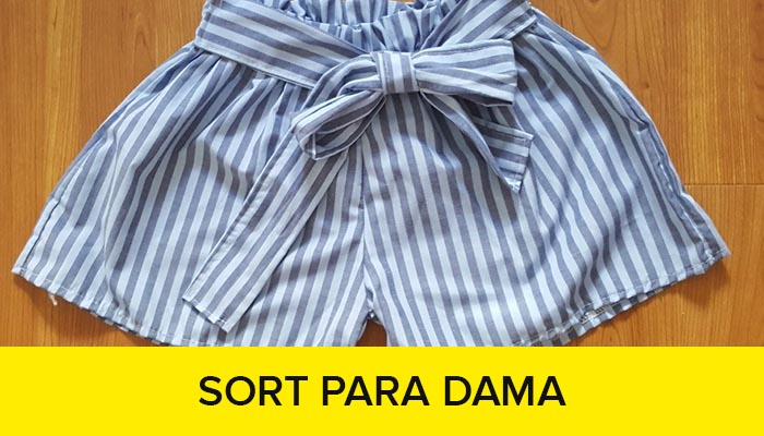 curso confeccion short para dama
