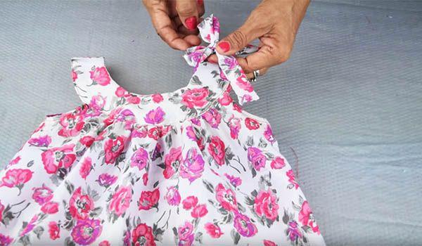 como hacer un vestido de niña