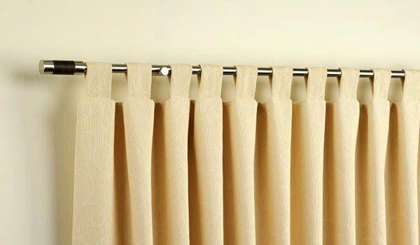 como hacer cortinas con presillas