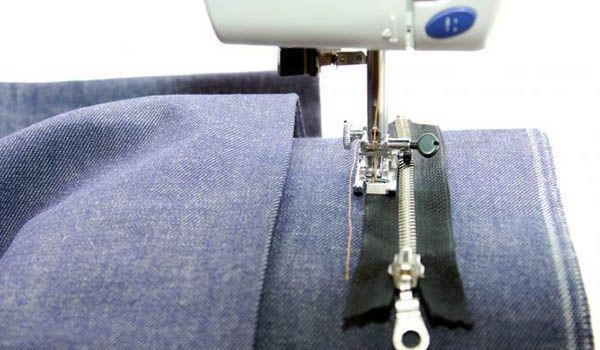 como coser cierre