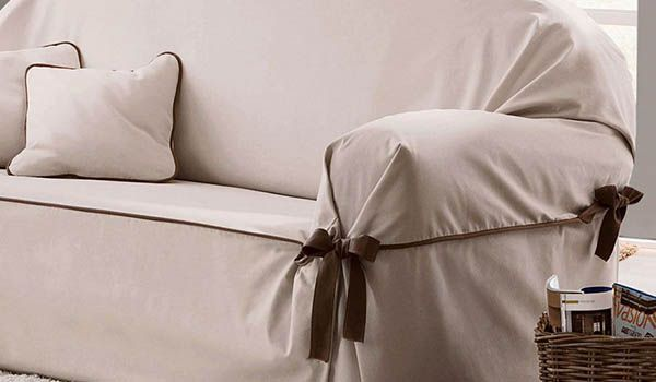 como hacer funda para sofa