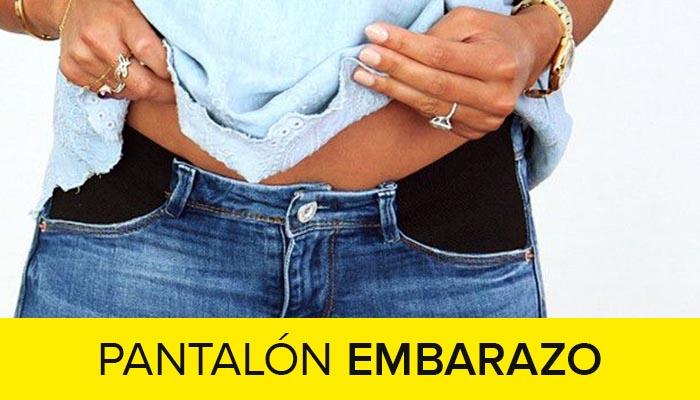 como hacer pantalon de embarazo