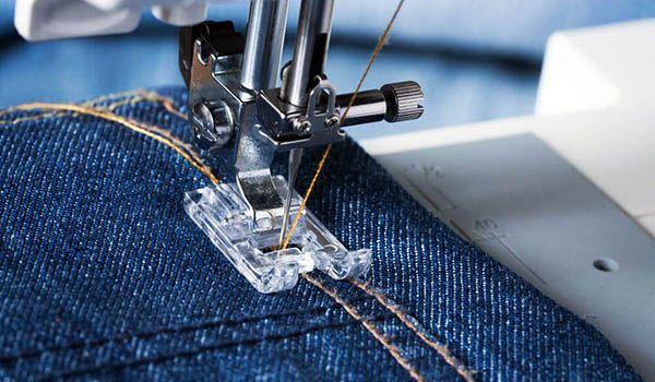 como coser telas gruesas