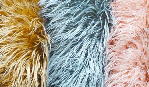 tela de pelo largo