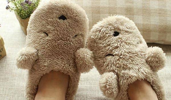 curso pantuflas de oso