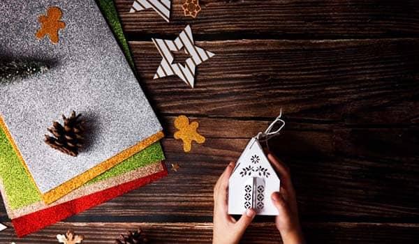 4 manualidades para navidad con reciclaje
