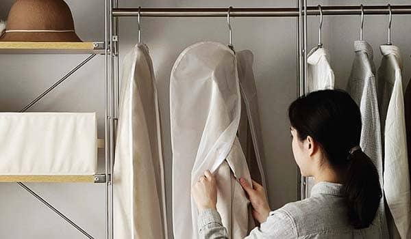 como hacer funda ropa facil